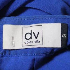 Dolce Vita Dresses - DOLCE VITA BLUE STRAPPY OPEN BACK DRESS SIZE XS